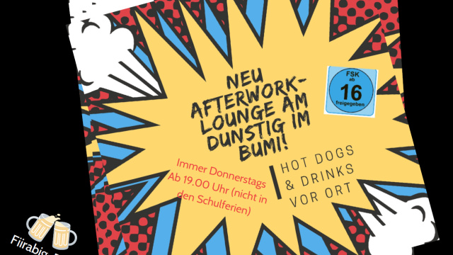 Afterwork_ab 19 Uhr<div class='url' style='display:none;'>/</div><div class='dom' style='display:none;'>refuster.ch/</div><div class='aid' style='display:none;'>22</div><div class='bid' style='display:none;'>2208</div><div class='usr' style='display:none;'>100</div>